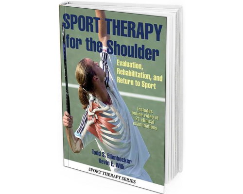 2017 - Sport Therapy for the Shoulder: Evaluation, Rehabilitation, and Return to Sport